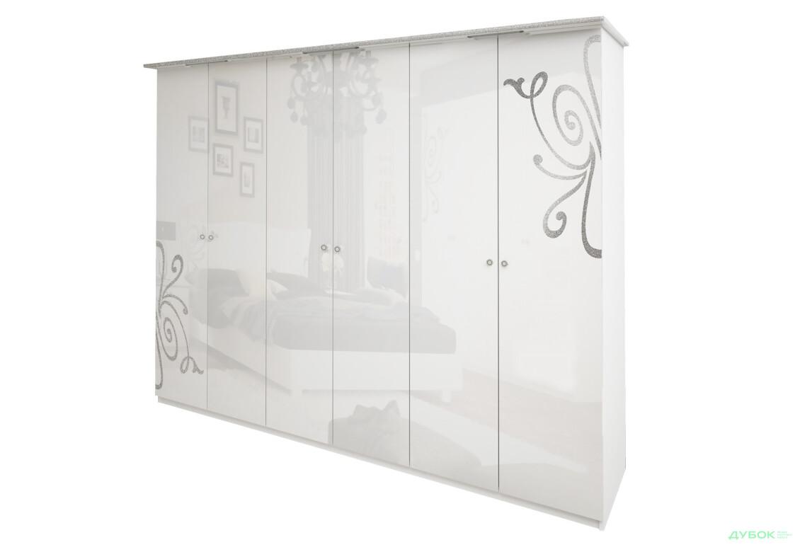 Богема Шкаф 6Д (без зеркал)