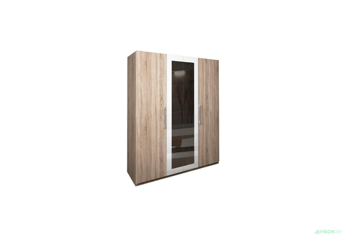 Модульна спальня Соната Шафа 4Д із дзеркалом