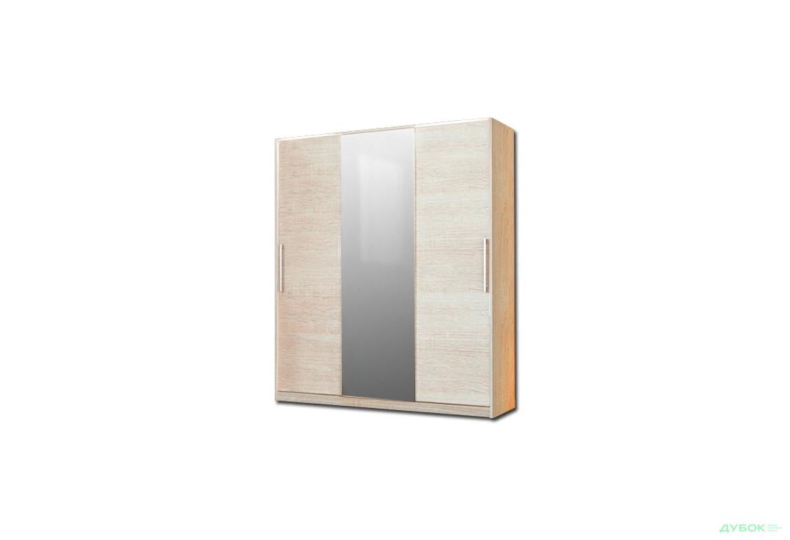 Модульная спальня Соната Шкаф-купе 200 (с зеркалом)