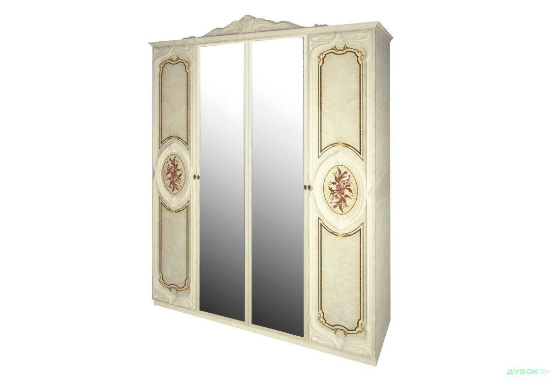 Модульная спальня Реджина Шкаф 4Д