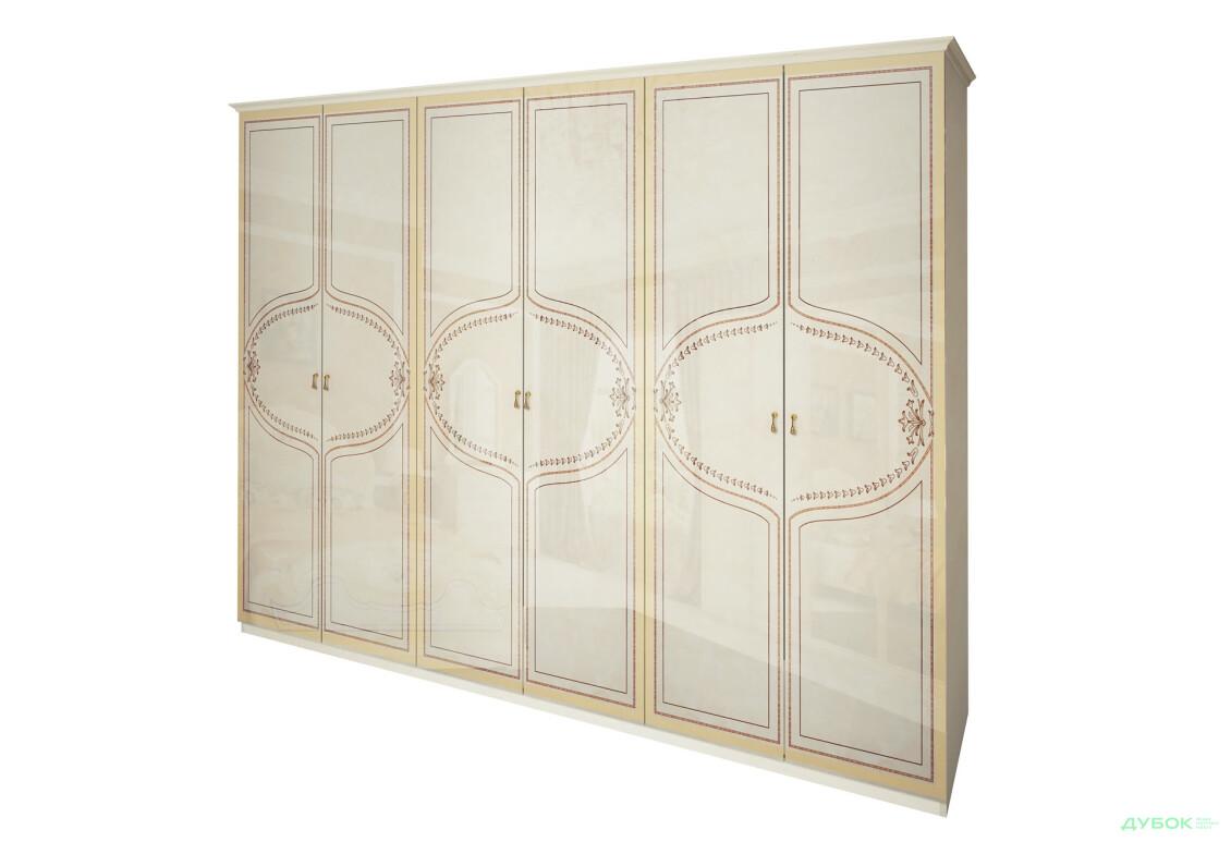 Модульная спальня Мартина Шкаф 6Д (без зеркал)