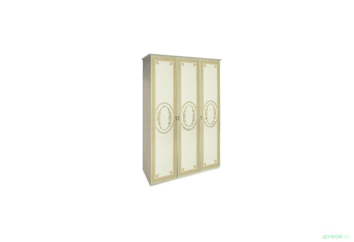Модульная спальня Примула / Primula Шкаф 3Д (без зеркал)