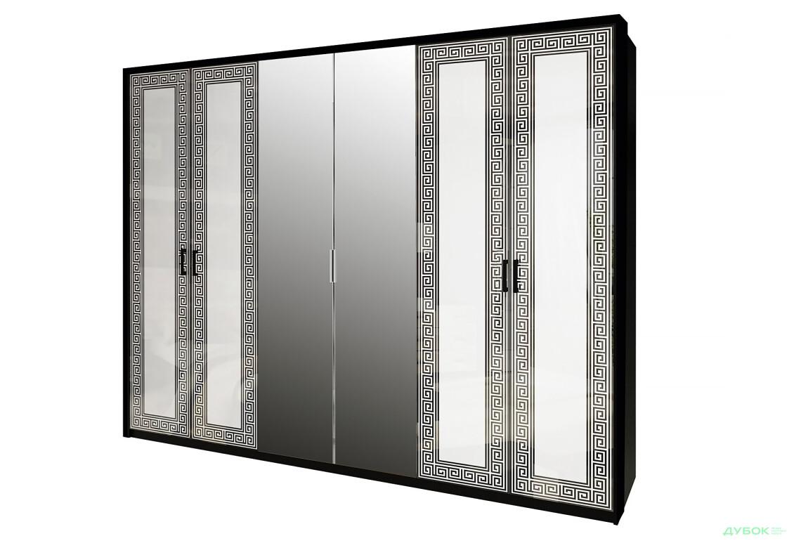 Модульная система Виола Шкаф 6Д с зеркалами