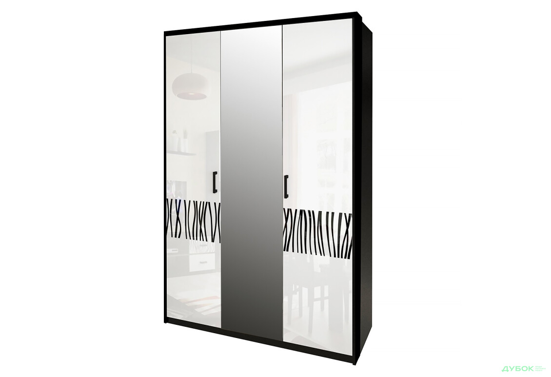 Шкаф 3Д (с зеркалами)