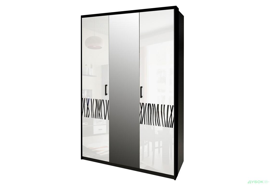 Модульная система Терра Шкаф 3Д (с зеркалами)