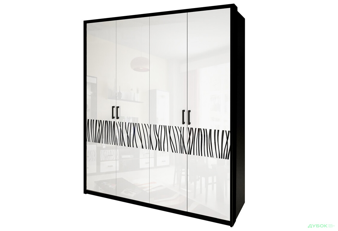 Шафа 4Д (без дзеркал)
