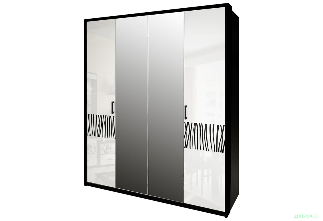 Шкаф 4Д (с зеркалами)