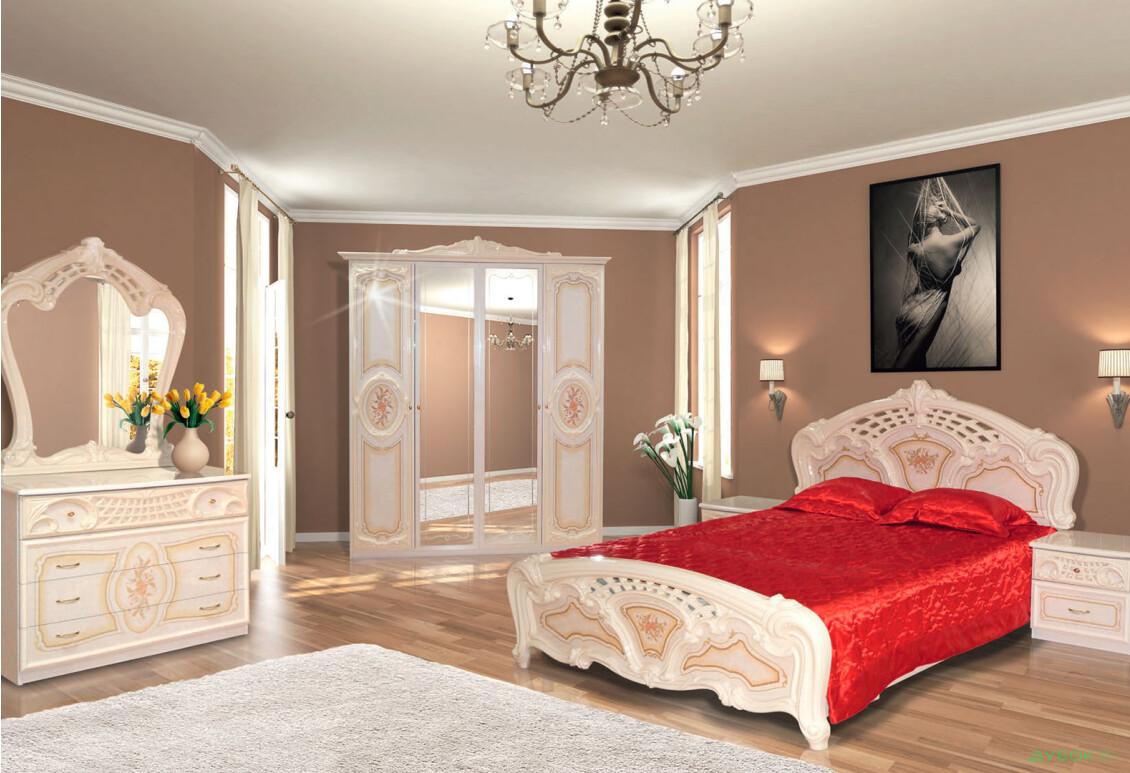 Модульная спальня Кармен новая Спальня 4Д