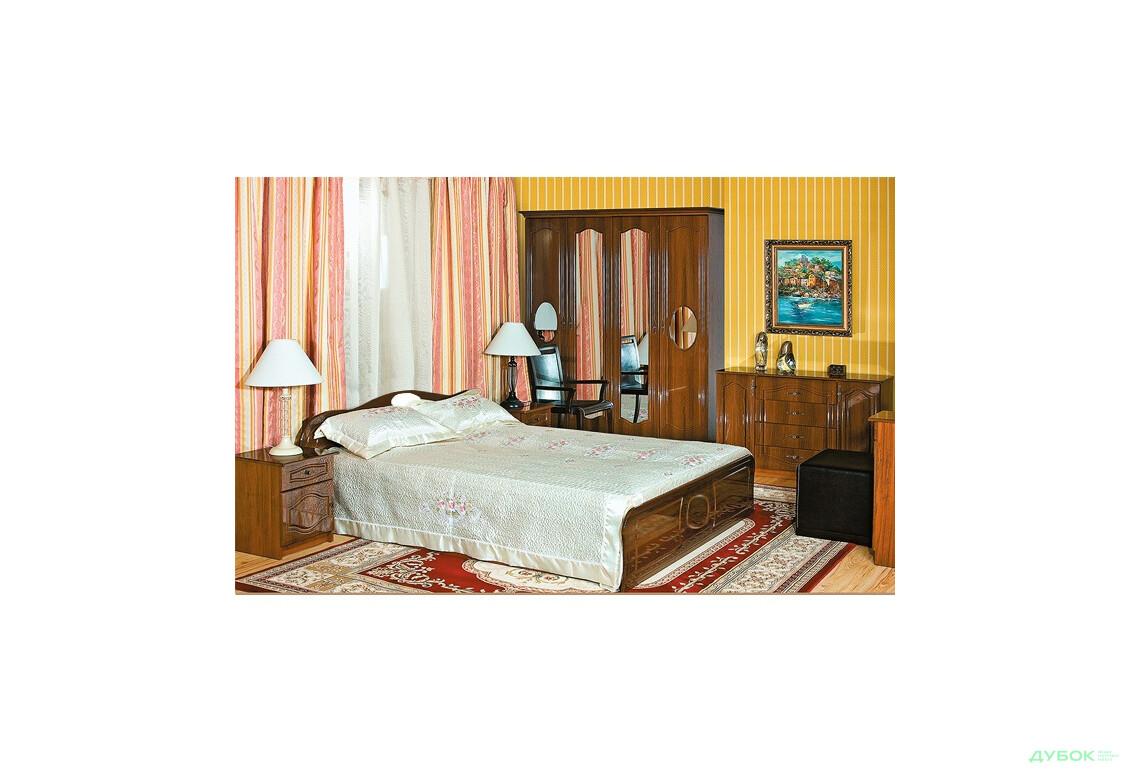 Модульная спальня Афродита Лак Спальня 4Д