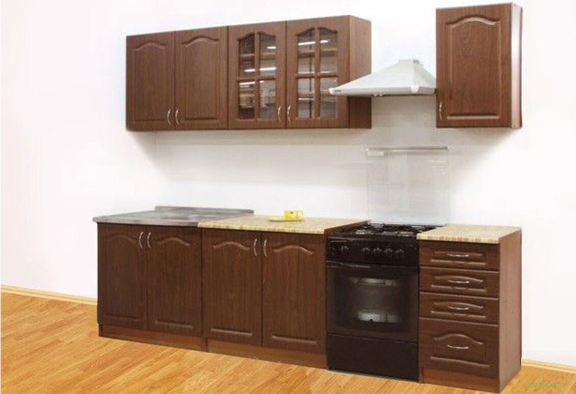 Модульная кухня Оля МДФ матовая Комплект 2.0