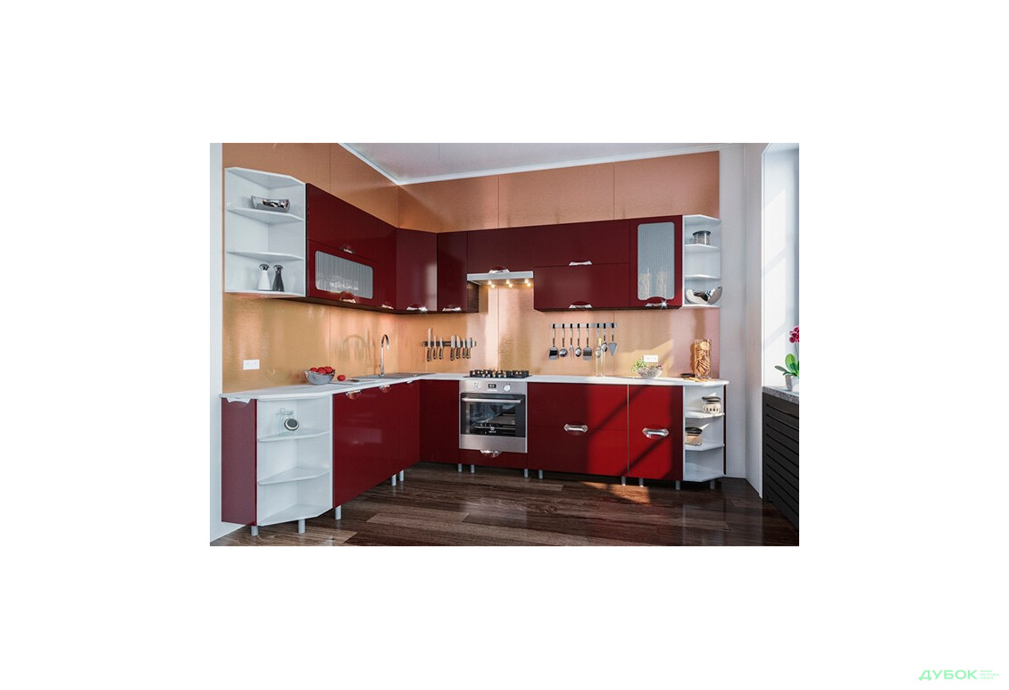 Модульная кухня Адель Люкс (глянец)