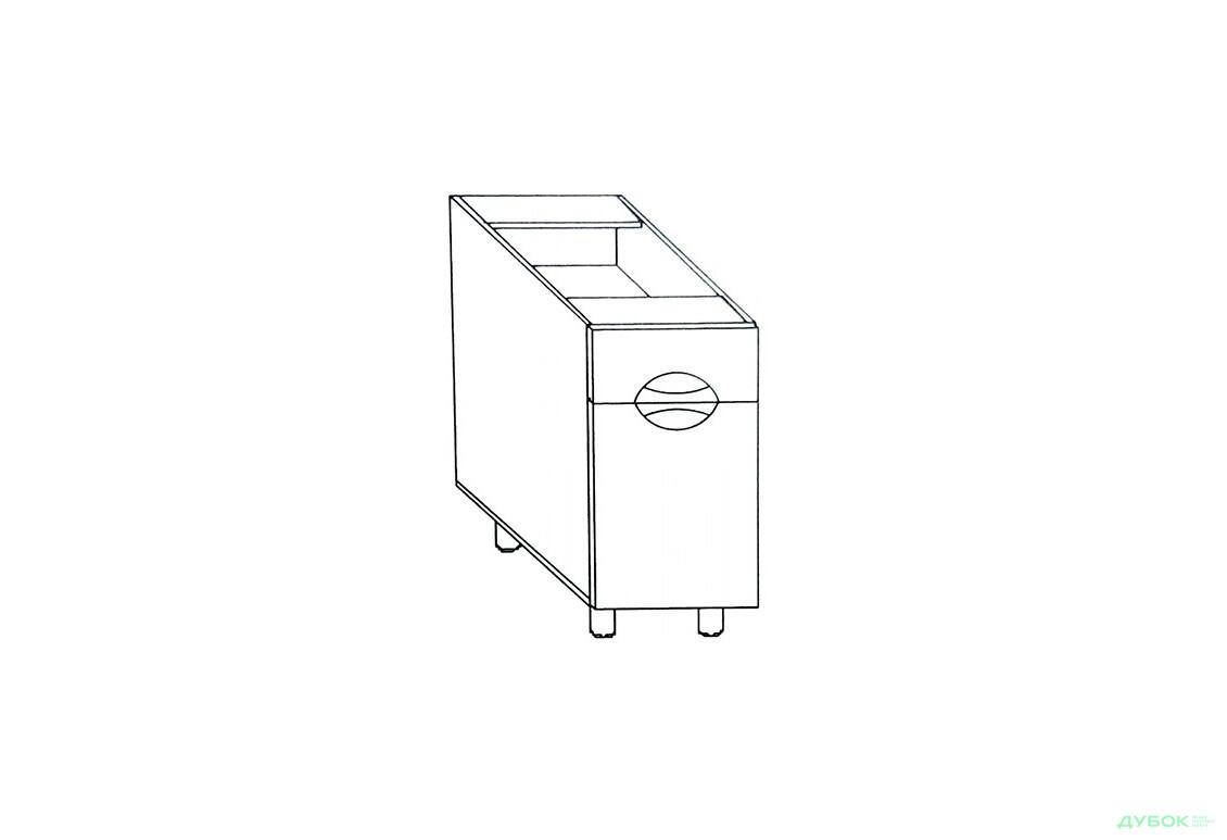 Модульная кухня Адель Люкс (глянец) Н 30