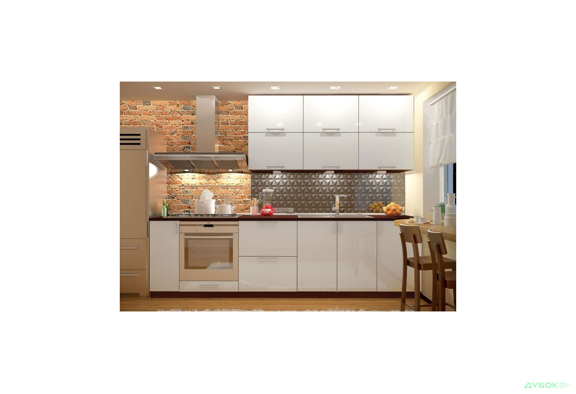 Кухня МоДа металік / MoDa metallic Комплект 2.7
