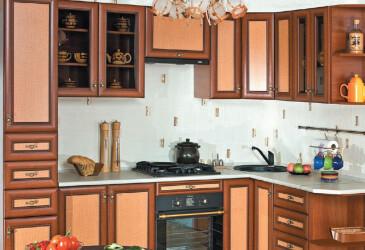 Кухня угловая Оля Люкс 3.3х1.4 БМФ