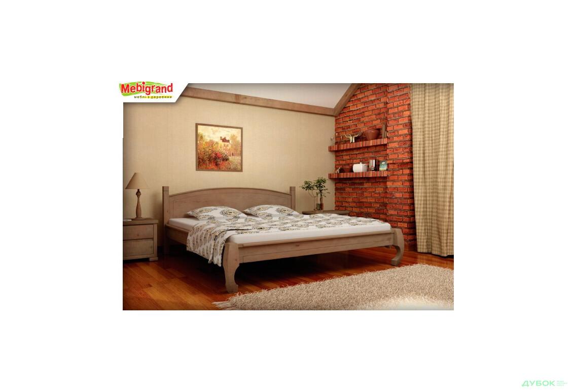 Ліжко двоспальне дерев'яне Манхеттен 160