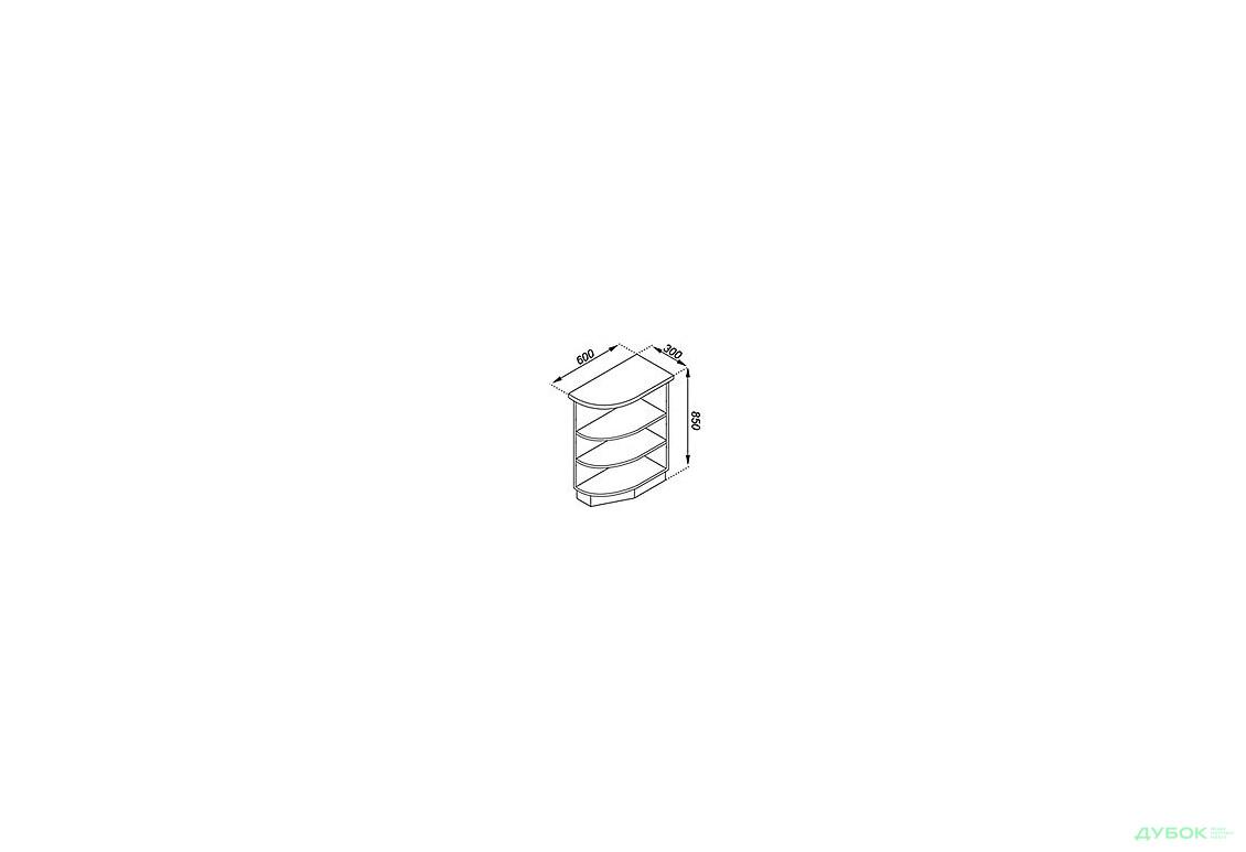 Тюльпан Лак Н 30КЗ з заокругленням