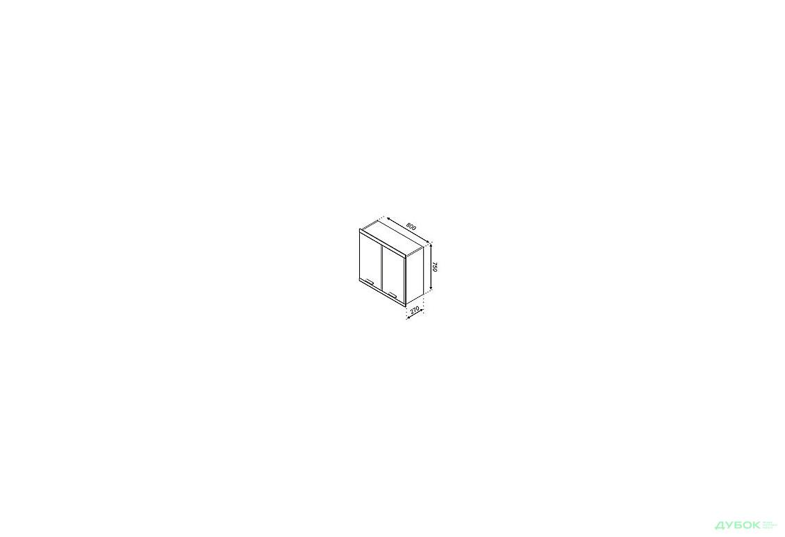 Модульная кухня Терра В 80