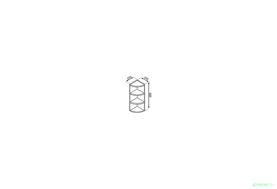 В 30КЗ с закруглением (h 920)