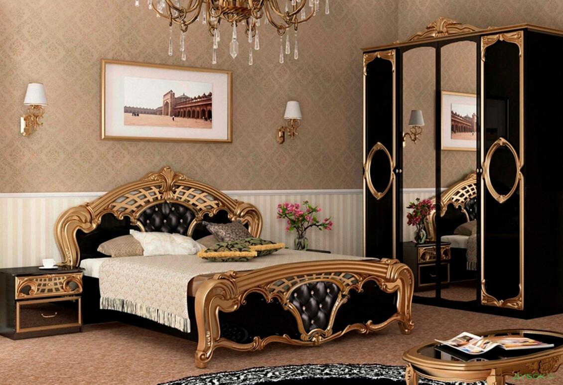 Модульная спальня Реджина Блэк