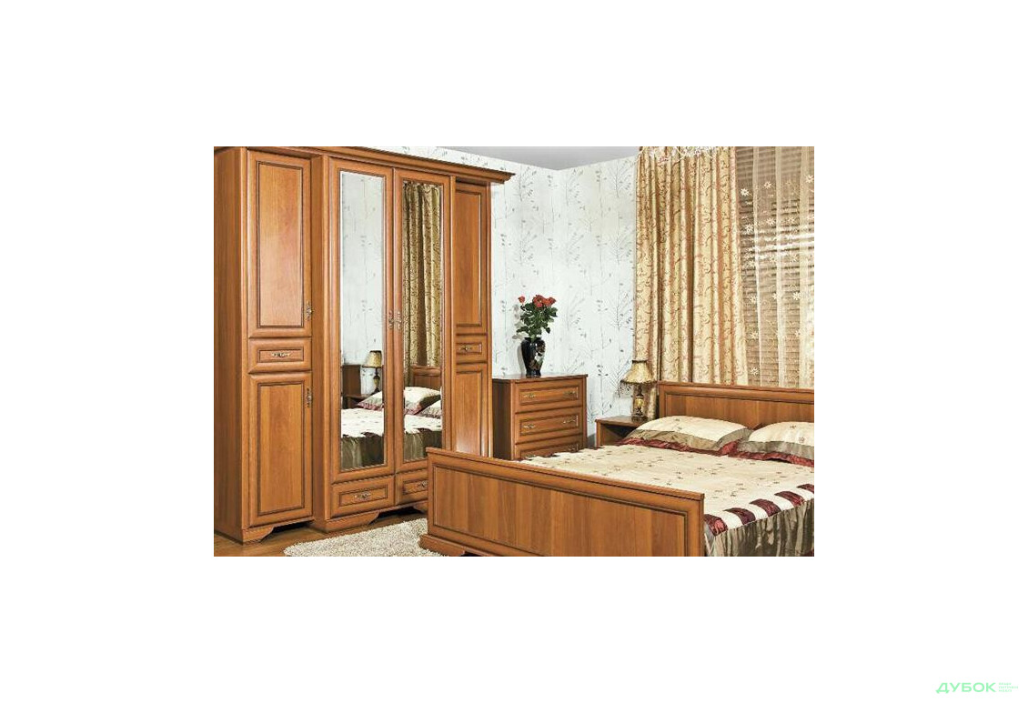 Модульна спальня Олеся Комплект 4Д