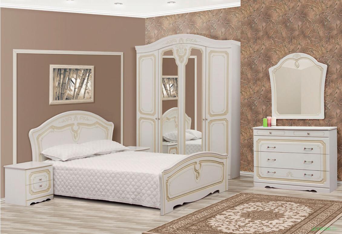 Модульная спальня Луиза патина
