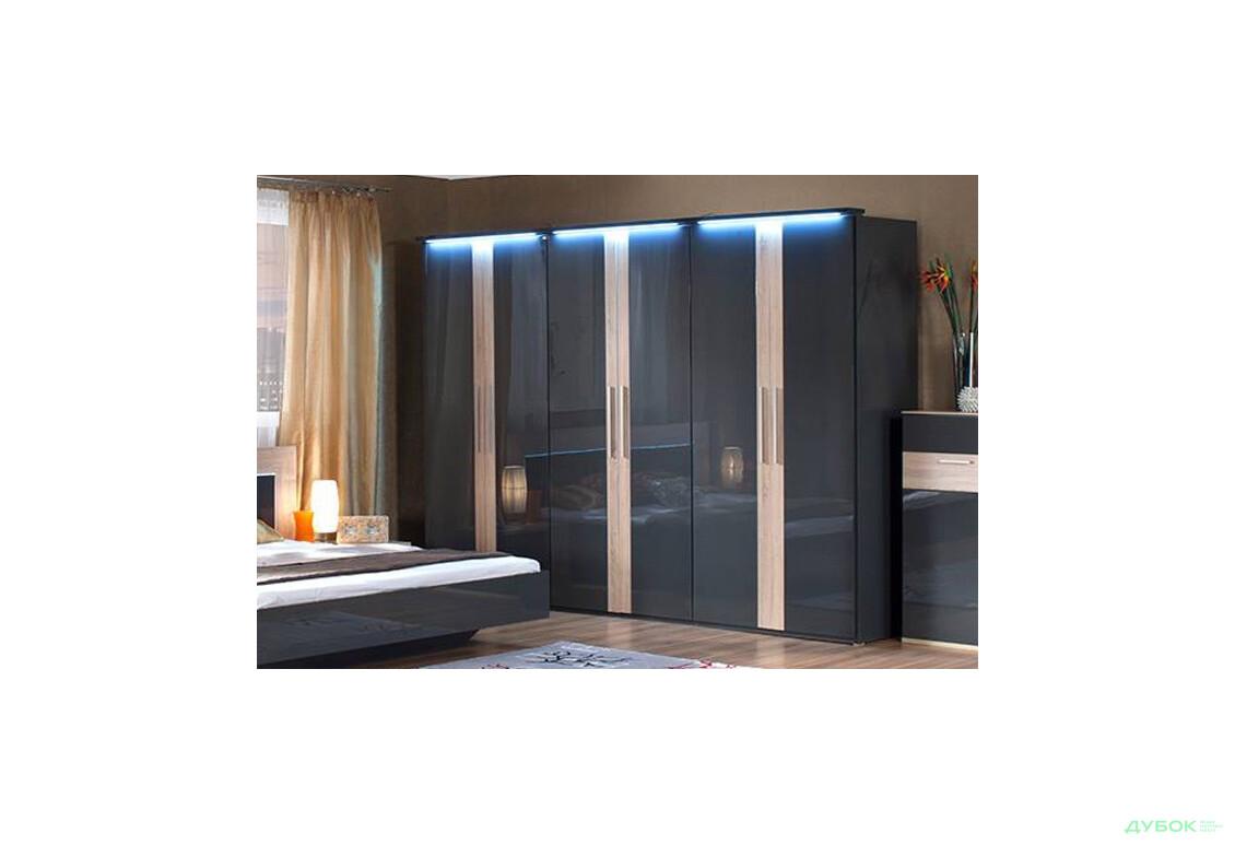 Модульная спальня Capri / Капри Шкаф 6Д
