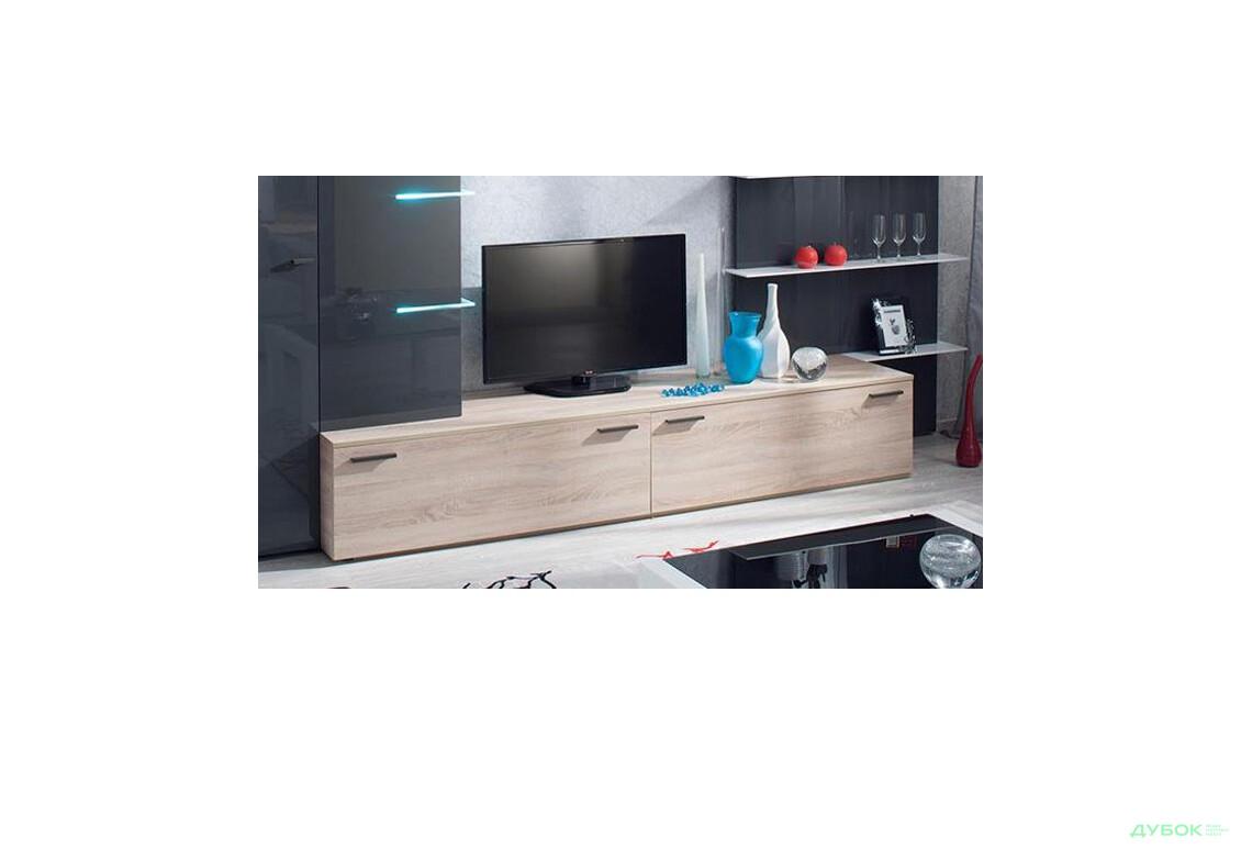 Шайн (Shine) серая - 2 TV-подставка W2500