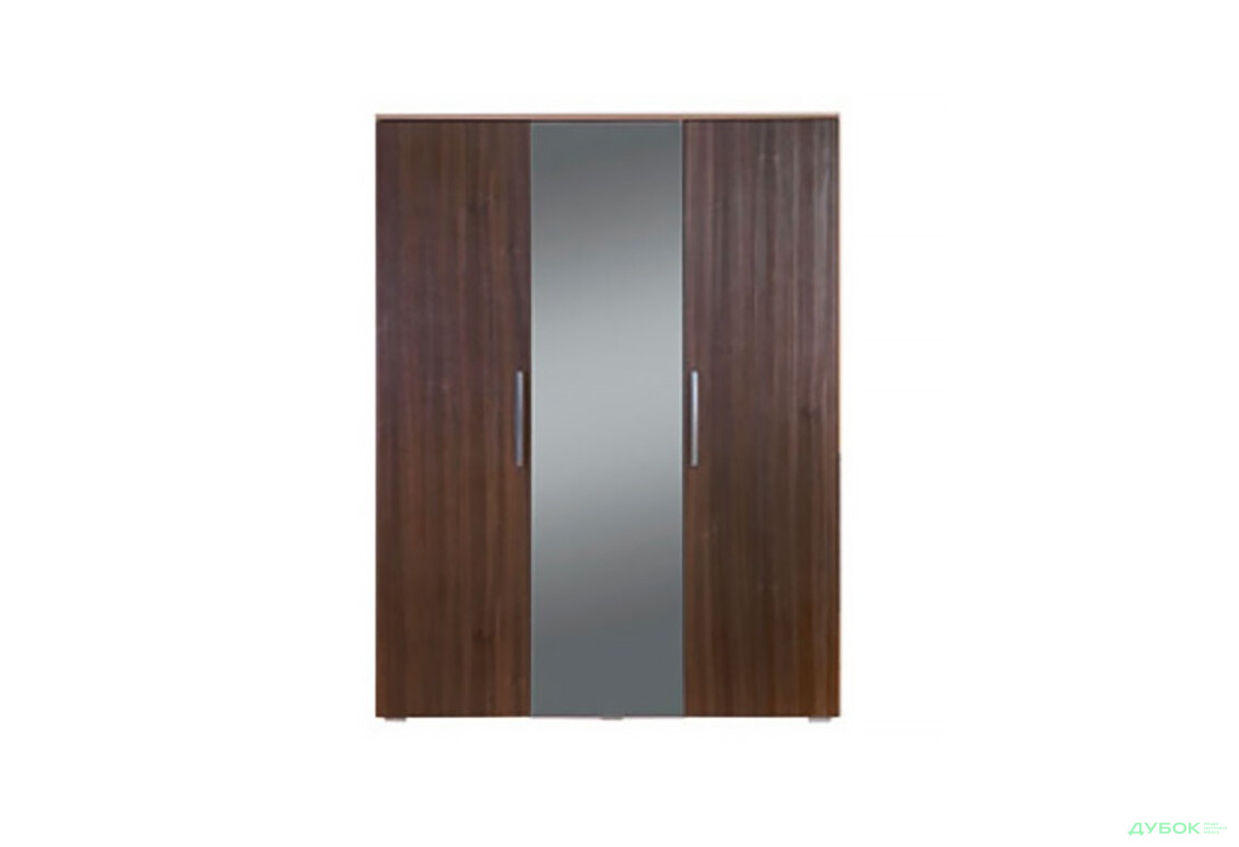 Шафа для одягу та білизни Ш-1614 із дзеркалом