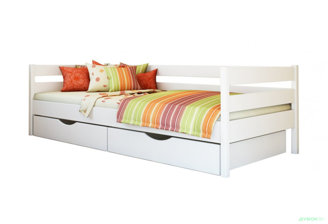 Серия Тесса кровать Нота 80х190 (щит)
