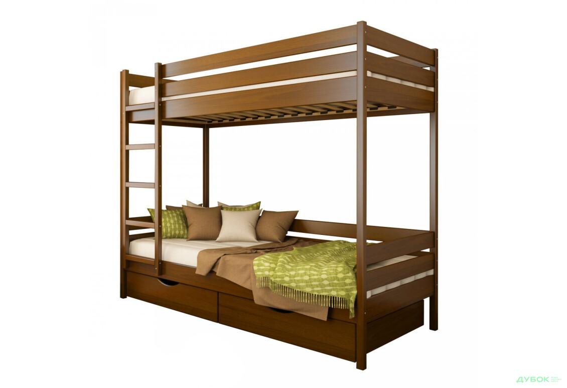 Серия Тесса кровать Дуэт 90х200 (массив)