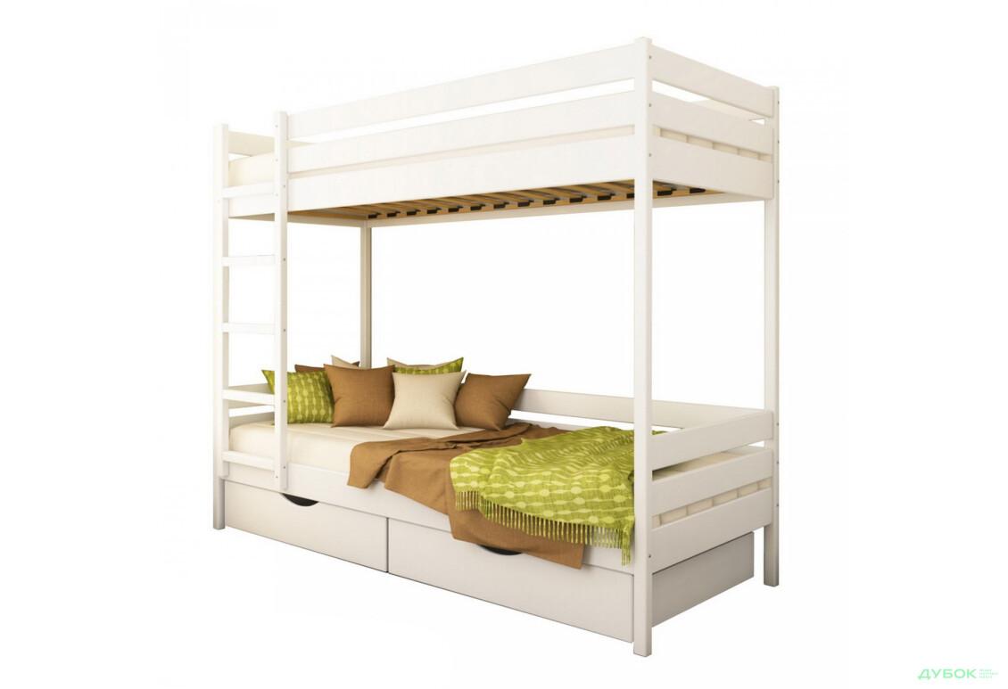 Серия Тесса кровать Дуэт 80х190 (массив)