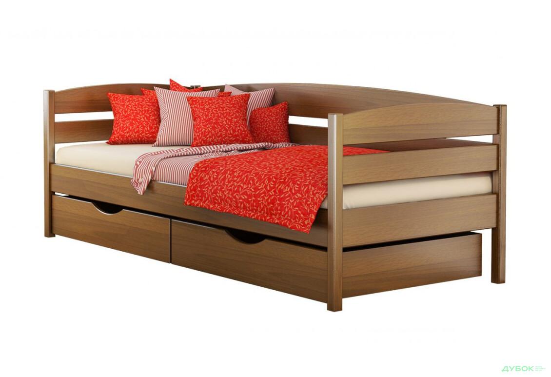Серія Вега ліжко Нота Плюс 90х200 (масив)