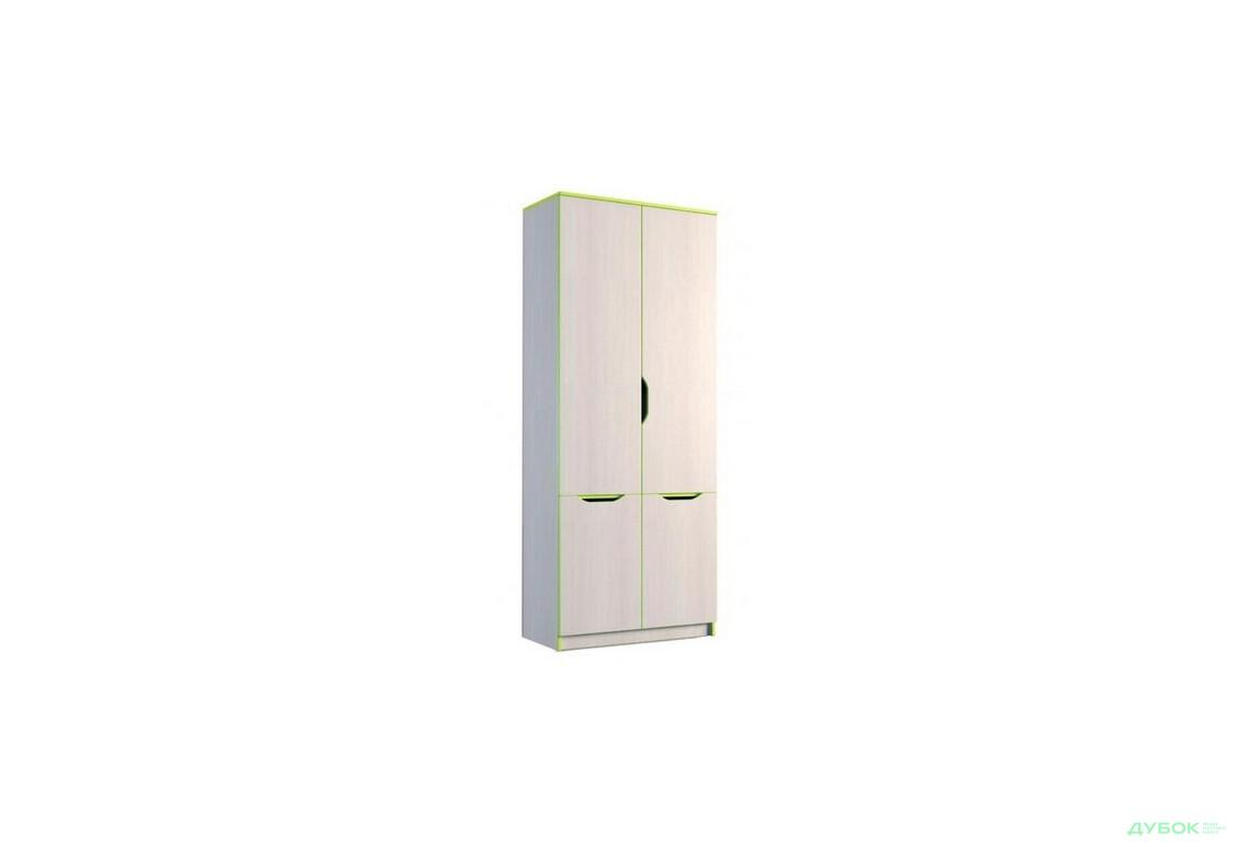 Шкаф книжный 4Д (800)
