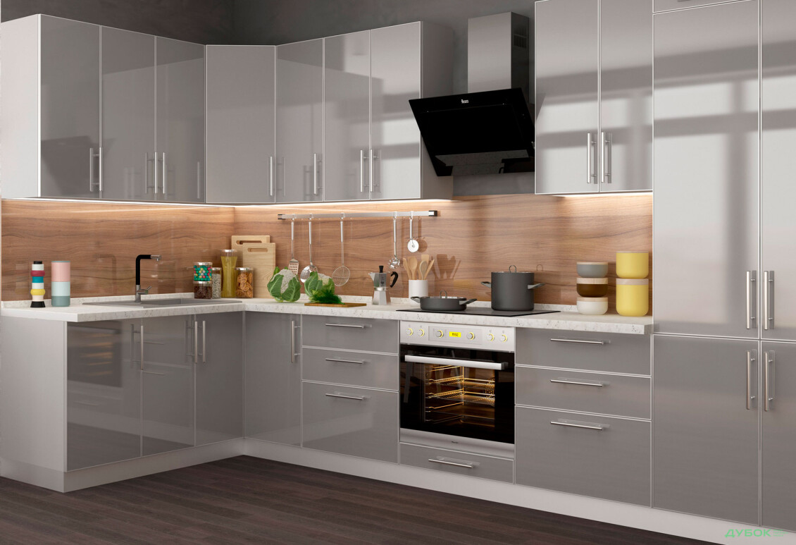 Модульная кухня Серия Mirror Gloss