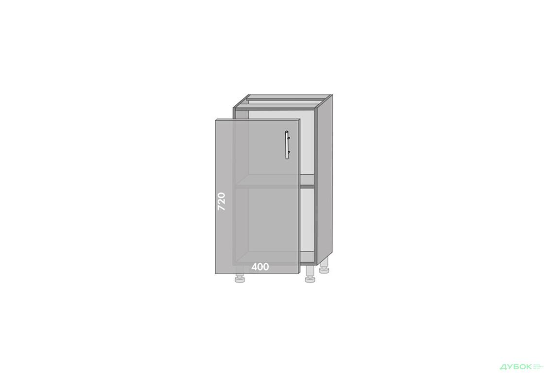 Модульная кухня Серия High Gloss Низ 40
