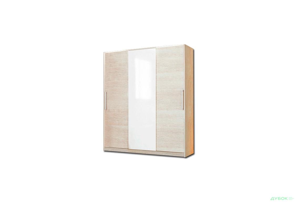 Модульная спальня Соната Шкаф-купе 200 (вставка декор глянец)