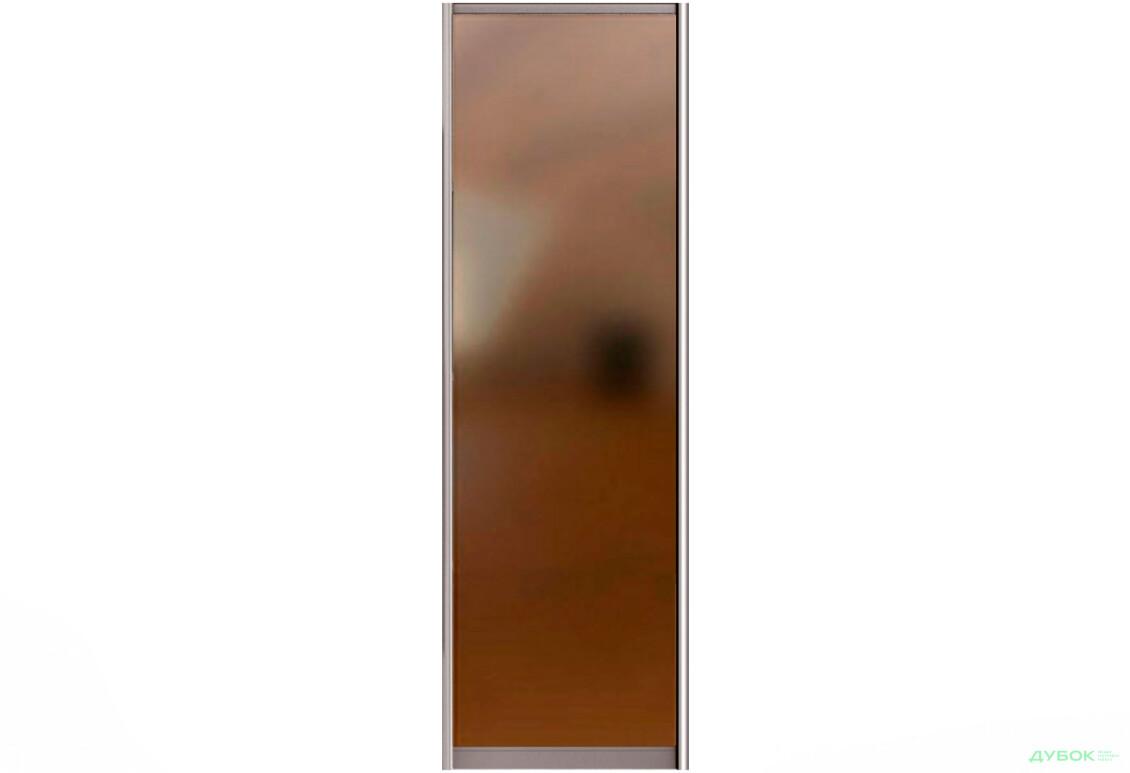 МебельСтар 3D 1900 Фасад Дзеркало Бронза 604