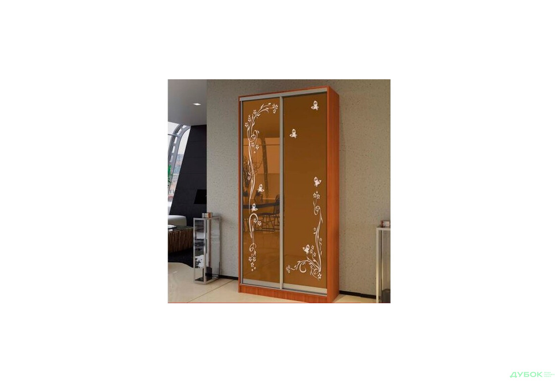 МебельСтар 3D 2700 Фасад Худ.мат Бронза УНІ 871