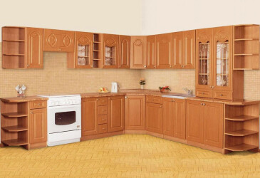 Модульна кухня Мальва МДФ Сокме - #1