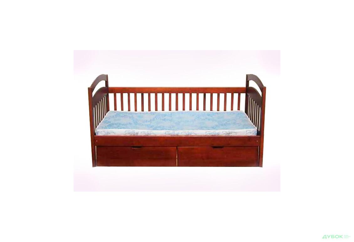 Ліжко одноярусне (із задньою перегородкою)
