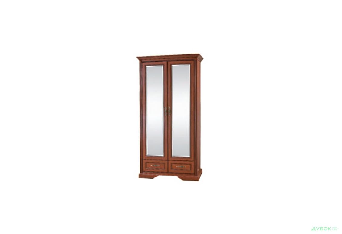 Шкаф для одежды (2-х дверная с зеркалами) Ш-1477