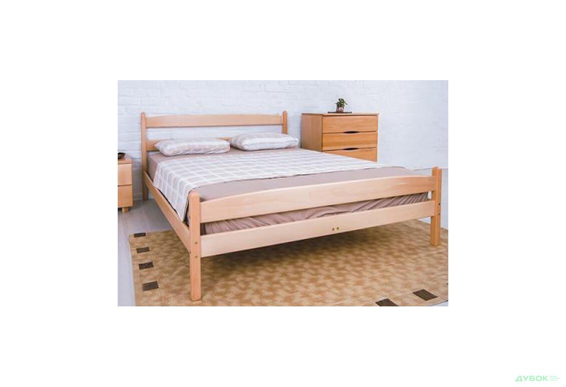 Кровать Ликерия 160 (с изножьем)