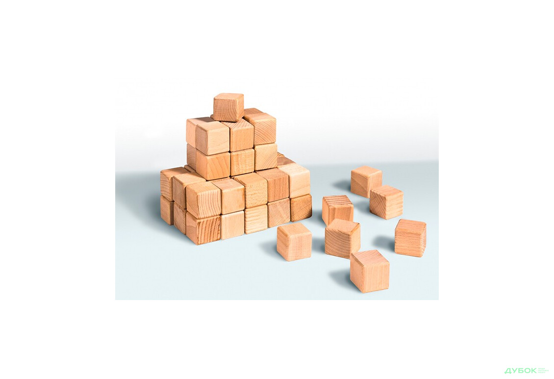Кубики деревянные (20 шт) 11С210-1