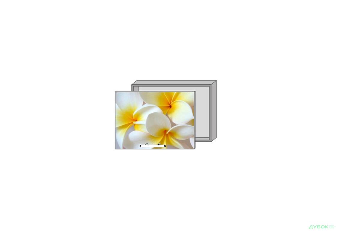Модульна кухня Серія Mirror Gloss Верх 962 вітрина фотодрук