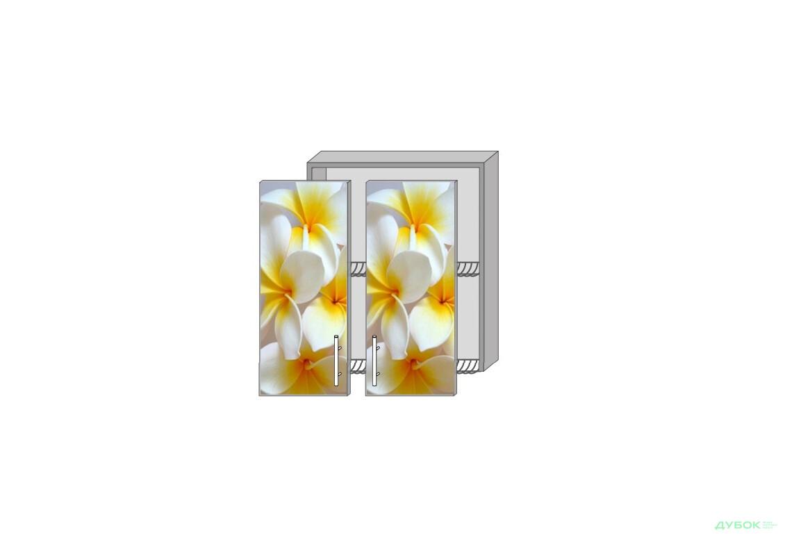 Серия Mirror Gloss Верх 61 витрина-сушка фотопечать