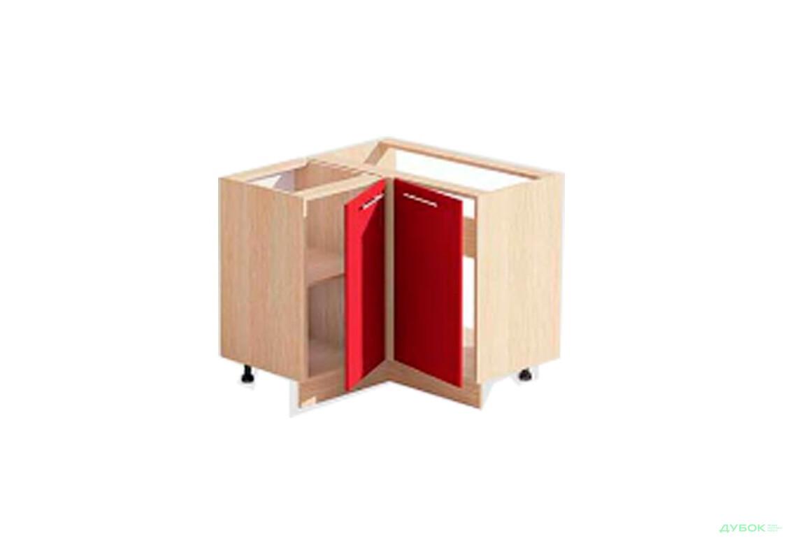 Модульна кухня Серія Хай-Тек глянцева Т-2886 кутова тумба-мийка