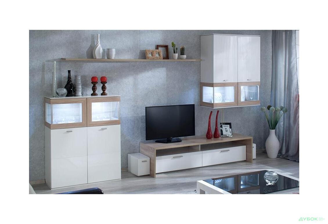 Модульная гостиная Вита 1 (белая)
