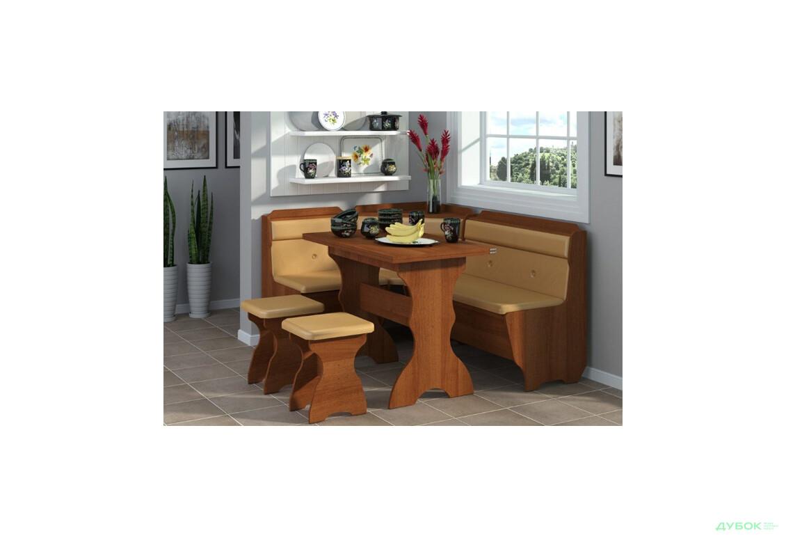 Кухонный уголок Кардинал (с раскл. столом)