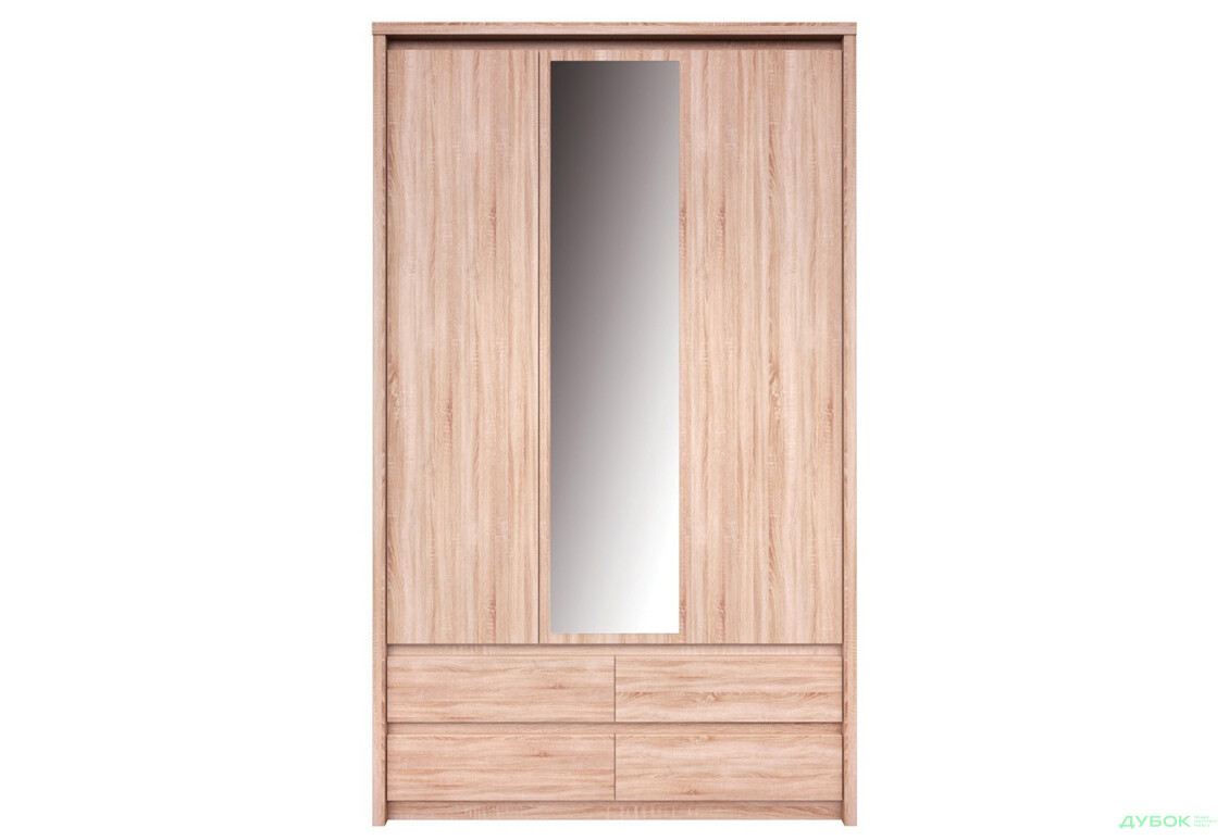 Шкаф 3d4s (с дзеркалом)