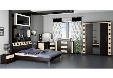 Модульная спальня Лира БМФ